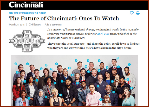 The Future of Cincinnati: Ones To Watch