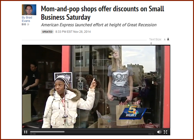 Mom-and-pop shops offer discounts on Small Business Saturday