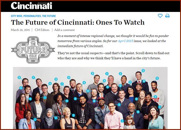 The Future of Cincinnati: Ones To Watch