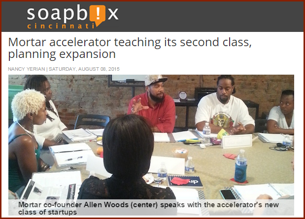 MORTAR accelerator teaching its second class, planning expansion