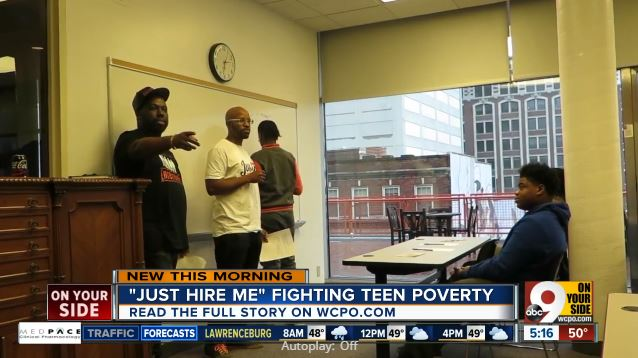 Just Hire Me: New company aims to tackle teen poverty one job at a time