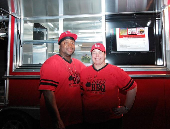 BBQ food truck opening brick-and-mortar restaurant in a Cincinnati neighborhood