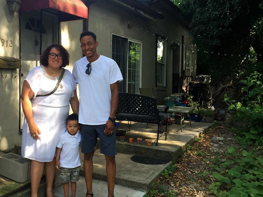 Living, working and volunteering in West End, Tia and Michael Brown make change