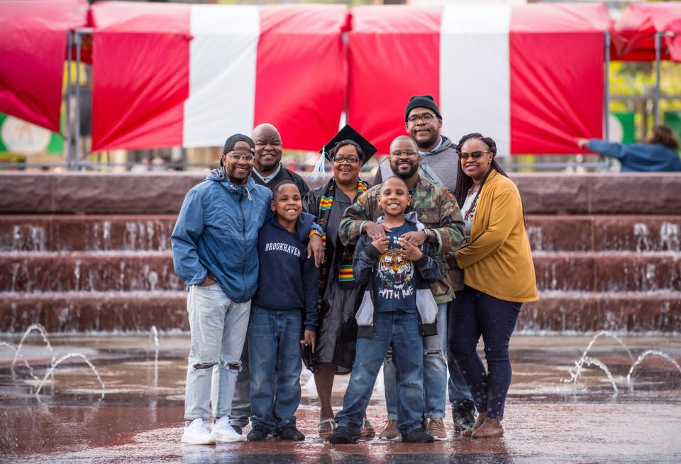 Family is everything. These are the people who hold you down when times are hard and will always be there to support you. My family is amazing!