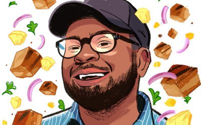 MORTAR'S DERRICK BRAZIEL ON HIS PASSION FOR TACOS AL PASTOR