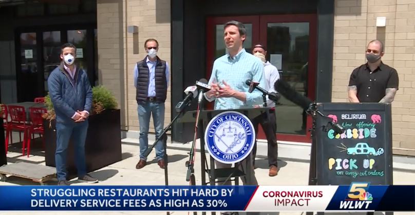 Cincinnati Councilman Wants To Limit Fees, Commissions Food Delivery Apps Charge Restaurants