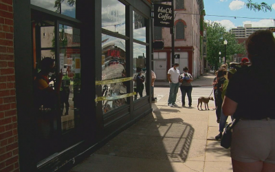 Owner of Damaged Coffee Shop Uses Leftover Donations To Help Other Businesses