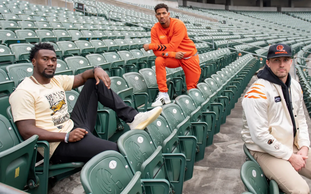 Bengals partner with local outerwear brand to spark change