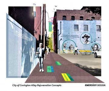 Covington Looks to Boost Entrepreneurship, Aesthetics at Innovation Alley